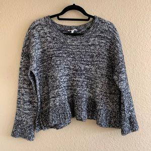 EILEEN FISHER Organic Cotton & Baby Alpaca Sweater
